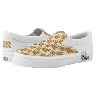 Autumn Hand Painted Illustration Slip-On Shoes