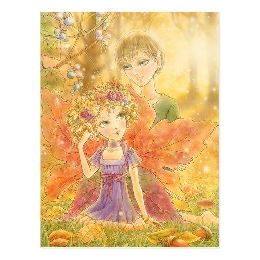 Autumn Harmony Postcard