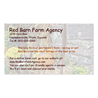 Autumn Harvest Bounty Pack Of Standard Business Cards