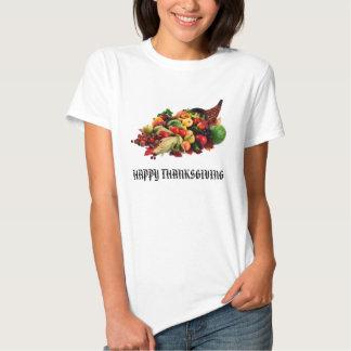 Autumn Harvest Cornucopia Horn of Plenty Fall Shirts