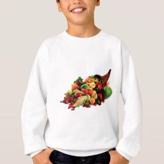 Autumn Harvest Cornucopia Horn of Plenty Fall Sweatshirt