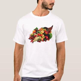 Autumn Harvest Cornucopia Horn of Plenty Fall T-Shirt