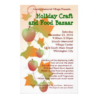 Autumn Harvest Holiday Craft Bazaar Small Flyer