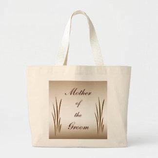 Autumn Harvest Mother of the Groom Jumbo Tote Bag