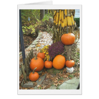Autumn Harvest Note Card