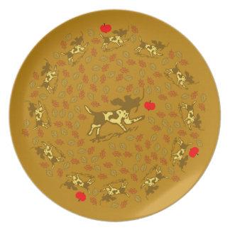 Autumn Harvest Plate