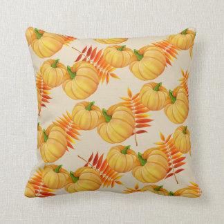 Autumn Harvest Pumpkin Pillow