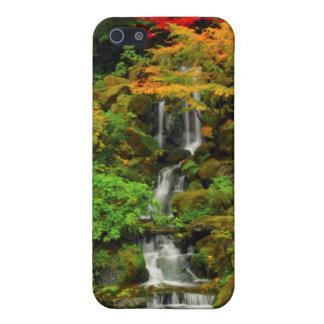 Autumn, Heavenly Falls iPhone 5/5S Cases