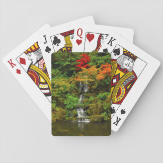 Autumn, Heavenly Falls Playing Cards