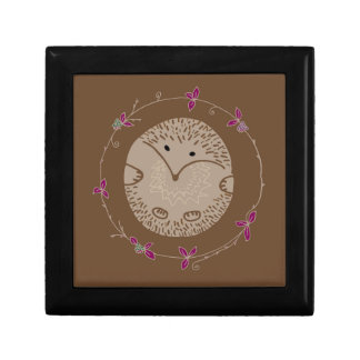 Autumn hedgehog gift box
