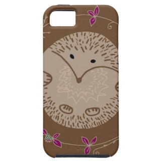 Autumn hedgehog iPhone 5 covers