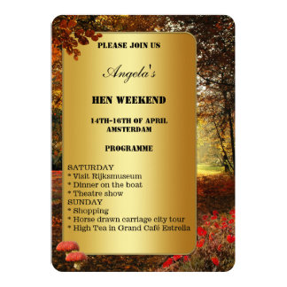 Hen Weekend Invitations & Announcements | Zazzle.co.uk