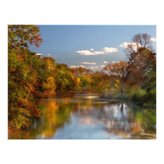 Autumn - Hillsborough NJ - Painted by nature Personalized Flyer