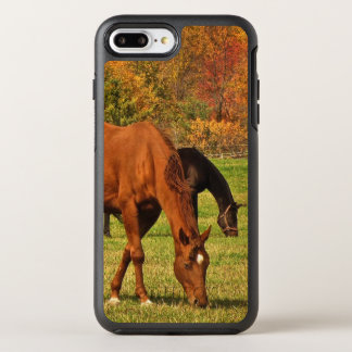 Autumn Horses Animal OtterBox Symmetry iPhone 8 Plus/7 Plus Case