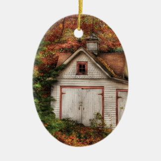 Autumn - House - Our old shed Christmas Ornament