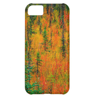 Autumn in a meadow iPhone 5C case