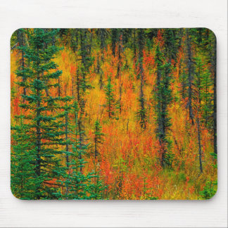 Autumn in a meadow mouse pad
