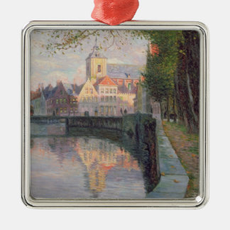 Autumn in Bruges Christmas Ornament