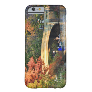 Autumn in Central Park: Boaters by Bow Bridge #01 Barely There iPhone 6 Case