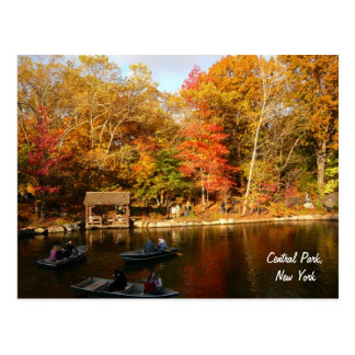 Autumn in Central Park (color) Postcard