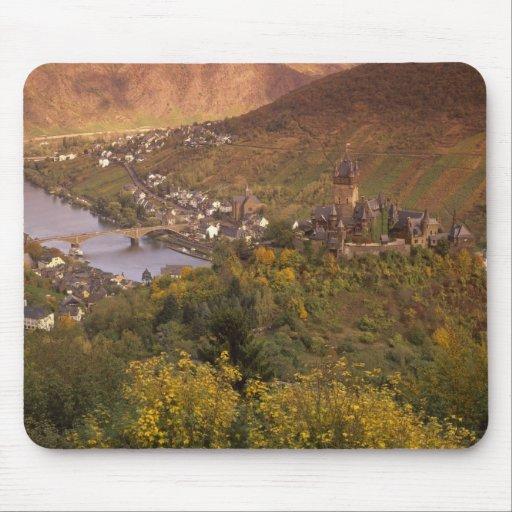 Autumn in Cochem, Rheinland Pfalz, Germany Mousepads