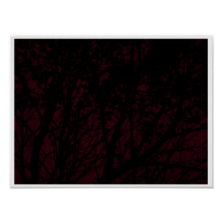 Autumn in Colors Print Poster