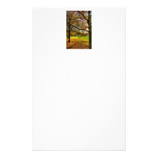 Autumn in London Stationery Paper