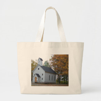 Autumn In Maine Large Tote Bag