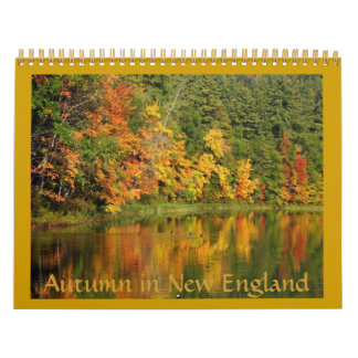 Autumn in New England 2012 Calendar