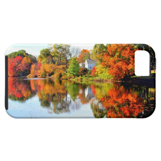 AUTUMN IN NEW ENGLAND iPhone 5 COVER