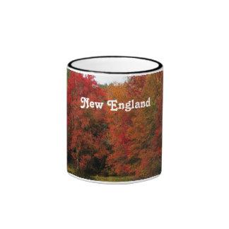 Autumn in New England Coffee Mugs