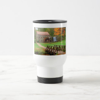 AUTUMN IN NEW ENGLAND STAINLESS STEEL TRAVEL MUG