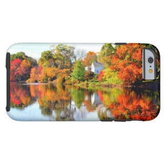 AUTUMN IN NEW ENGLAND TOUGH iPhone 6 CASE