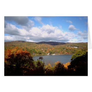 Autumn in New York - Bear Mountain Greeting Card