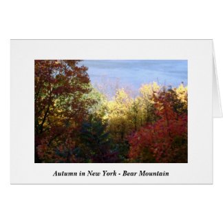 Autumn in New York - Bear Mountain Greeting Card