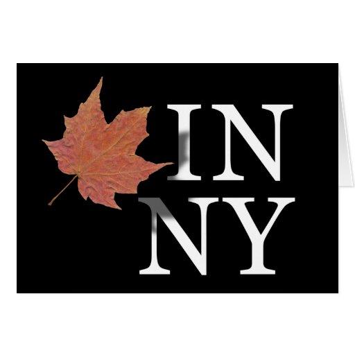 Autumn in New York Card