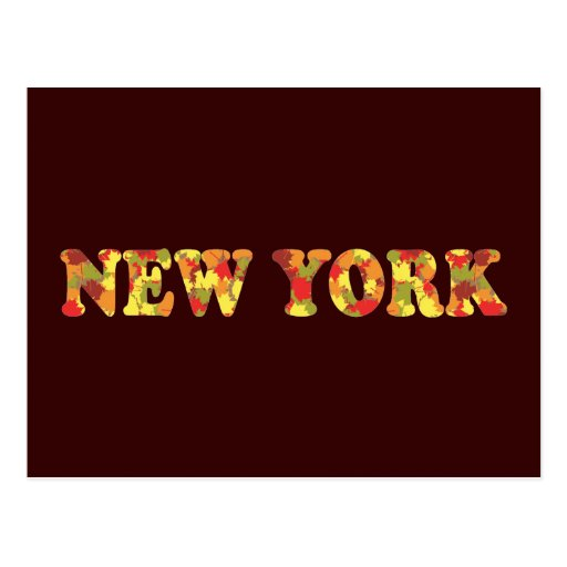 Autumn in New York Post Cards
