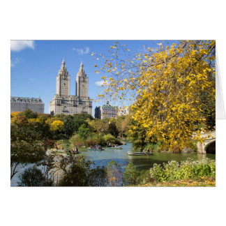 Autumn in New York, Thanksgiving Greeting Card