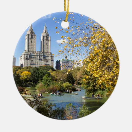 Autumn in New York, Thanksgiving Christmas Ornament