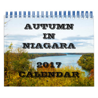 Autumn in Niagara Calendar