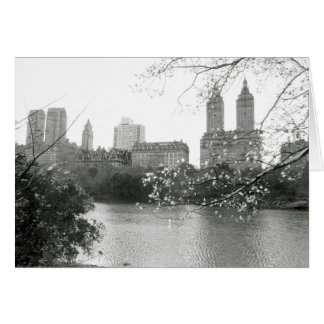 'Autumn in NY' Blank Greeting Card