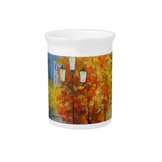 Autumn in Paris Beverage Pitcher