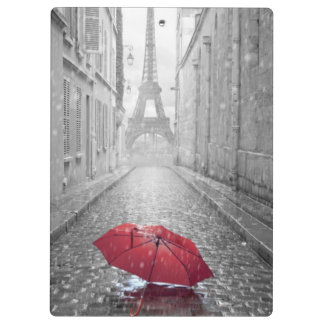 Autumn In Paris Clipboard