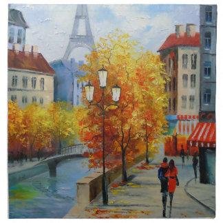 Autumn in Paris Napkin