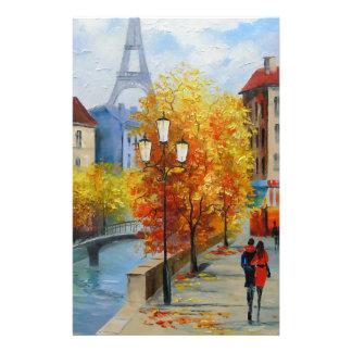 Autumn in Paris Stationery