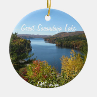 Autumn In The Adirondacks Ornament