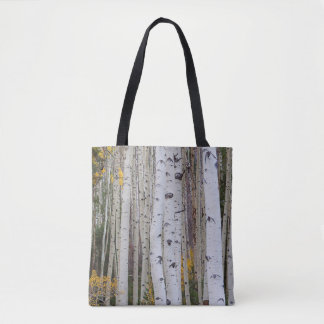 Autumn in the aspen's tote bag