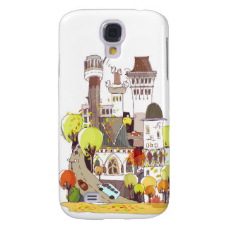 Autumn In The City Galaxy S4 Case
