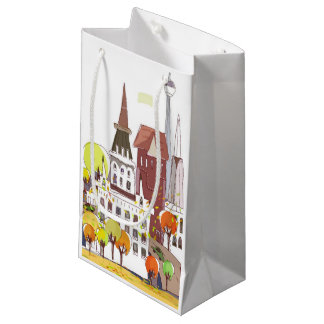 Autumn In The City Small Gift Bag