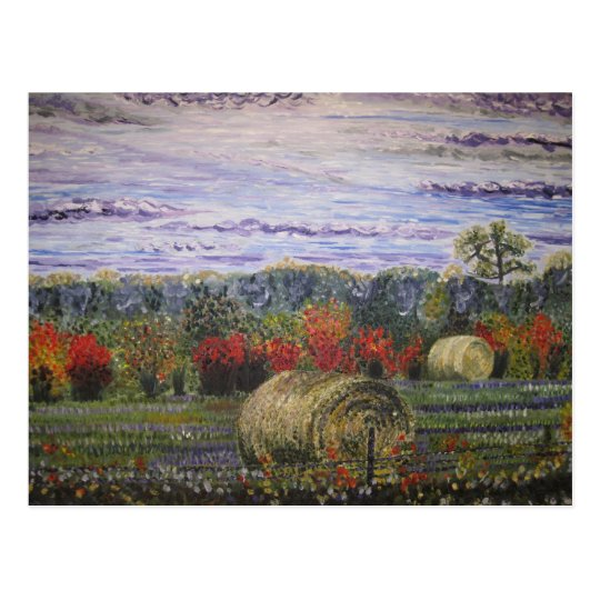 Autumn in the Country- post card